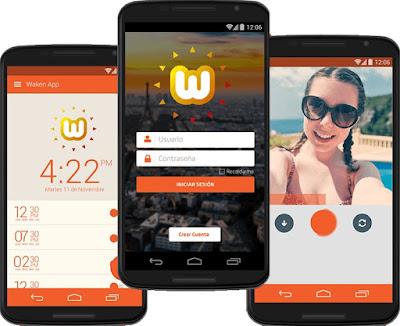 اجعل من صوتك نغمة المنبه  للالاف حول العالم مع تطبيق WakenApp