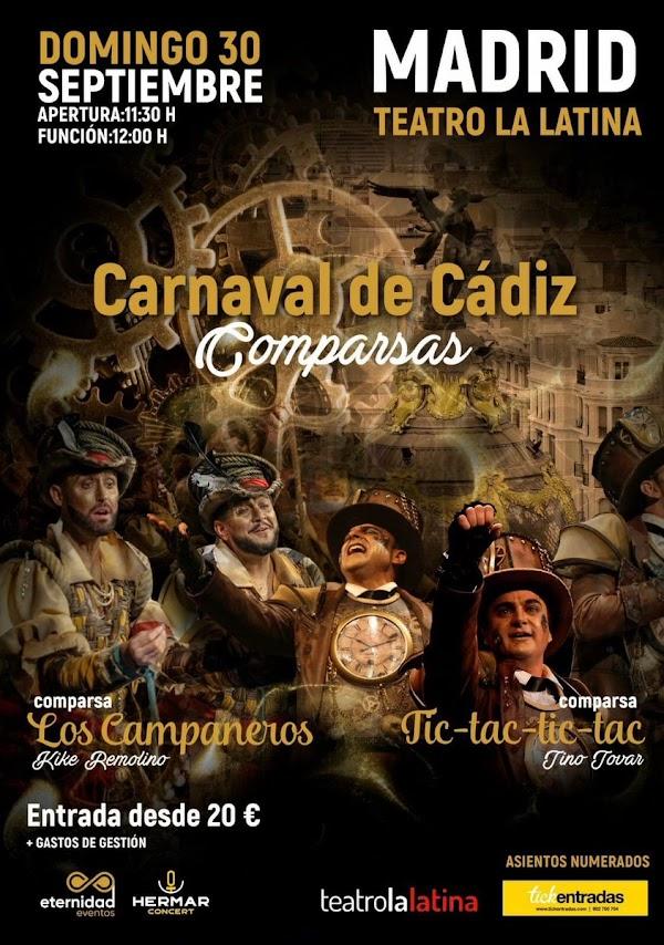 Madrid vivira de nuevo el Carnaval de Cádiz