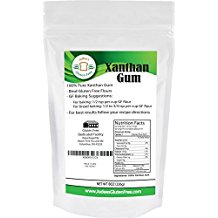 Xanthan Gum Gluten Free(8 oz) - USA Packaged & Filled in a Dedicated Gluten & Nut Free Facility
