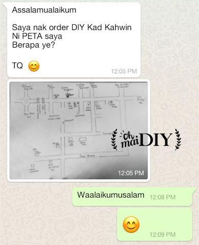 DIY Kad Kahwin 2017