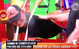 yoga, aeroyoga, aerial yoga, yoga aereo, fly, flying, aire, tendencias, prensa, belleza, salud, ejercicio, bienestar, wellness, tv, medios, suspension,