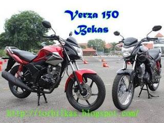 Harga dan Spesifikasi Honda Verza 150 Bekas Update