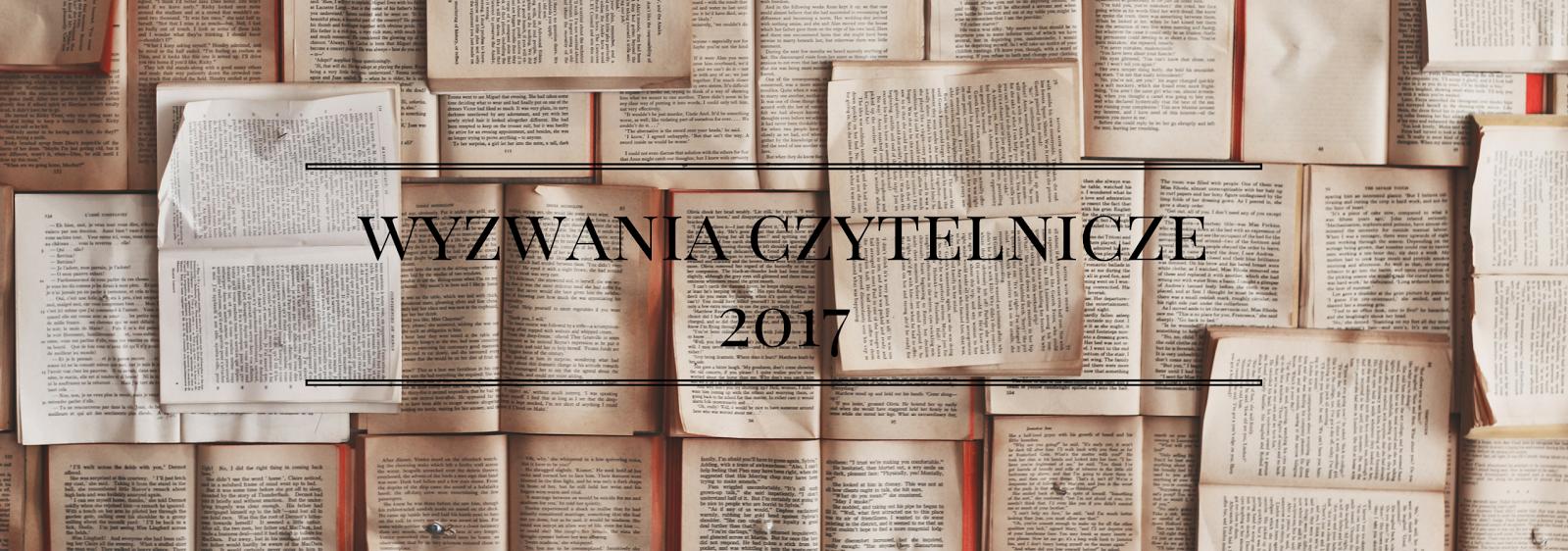 Wyzwania książkowe na 2017