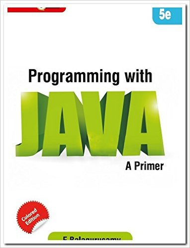 Programming With Java A Primer 3E - Balagurusamy - Google Books