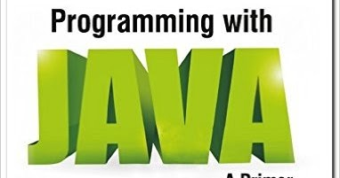Programming With Java A Primer By Balaguruswamy Pdf
