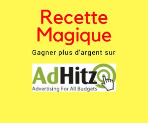 Gagner plus d'argent avec Adhitz
