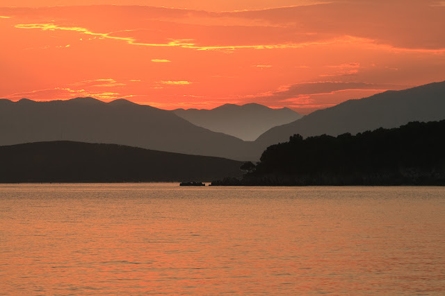 Sunrise. Kassiopi. Corfu. Greece. Восход солнца. Кассиопи. Корфу. Греция
