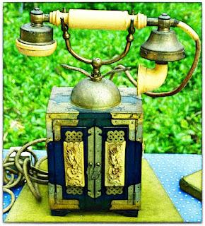 Telefone com Caixa, Feira de Antiguidades da Praça Daltro Filho - Porto Alegre