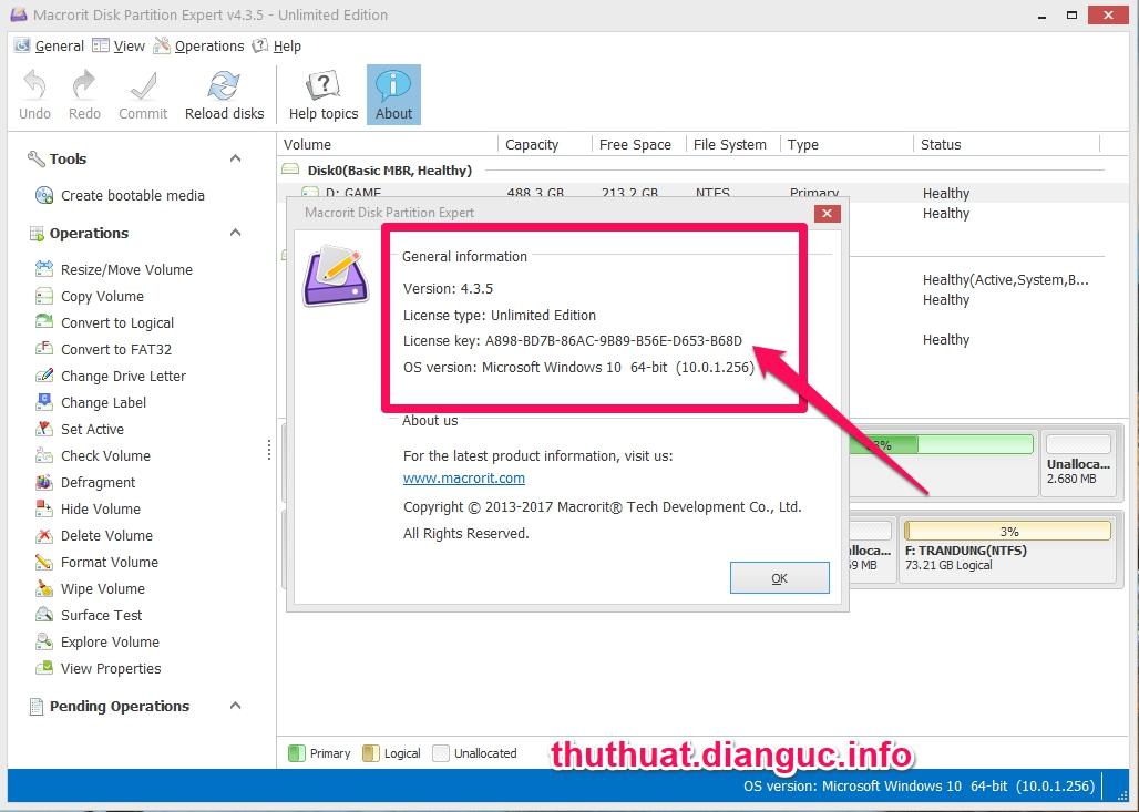 Download Macrorit Disk Partition Expert 5.0.0 Full Key