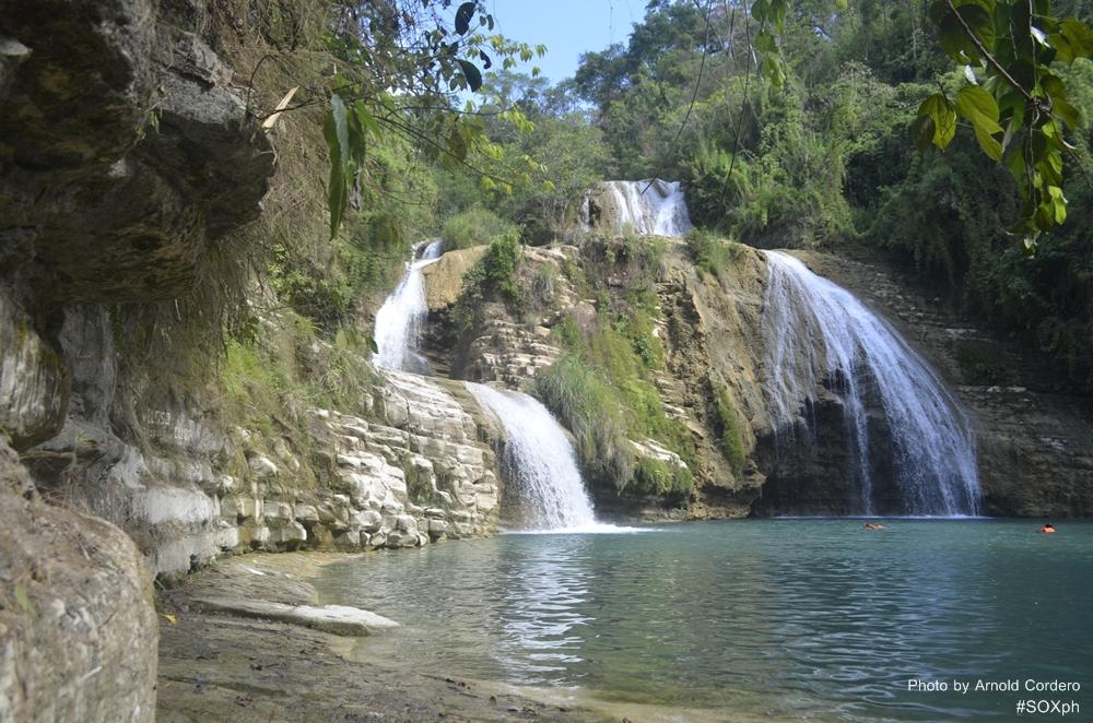Tres Andanas Falls in Lebak