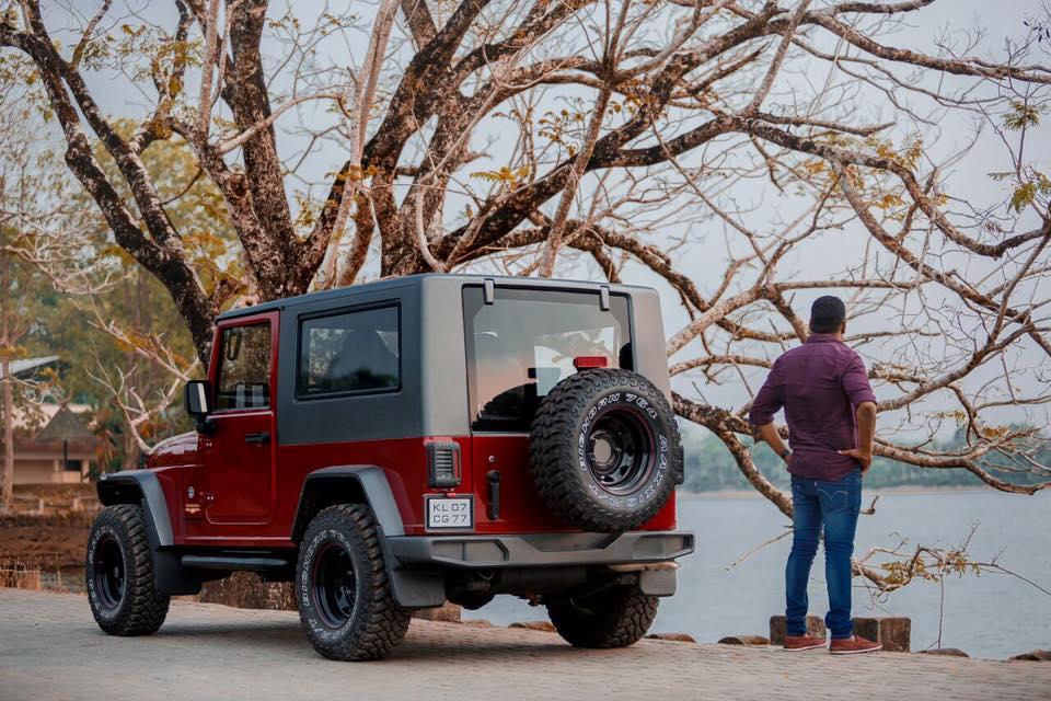 Jeep Wrangler Inspired Modification On Mahindra Thar