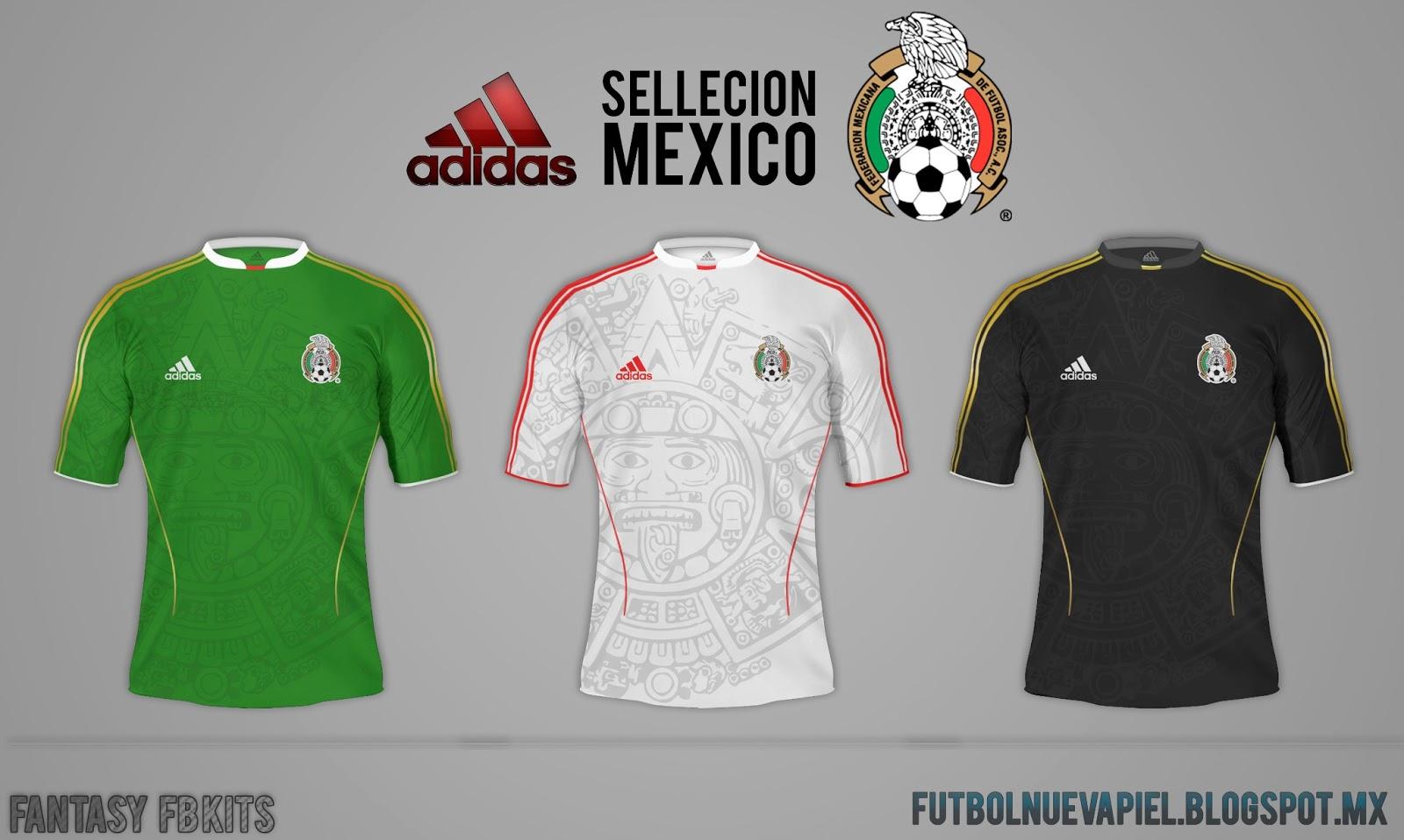 57b85cf0fdc72 Fútbol Nueva Piel (Fb kits design)  Nuevo Jersey Adidas Seleccion ...