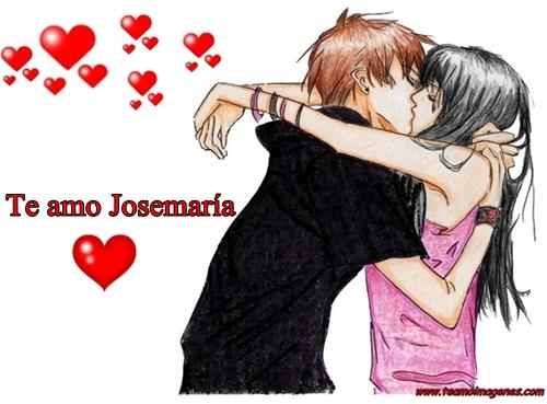 Las mejor imagen te amo josemaria, teamoimagenes.com