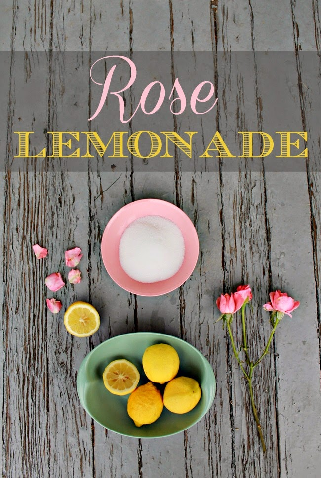 home made rose petal lemonade recipe