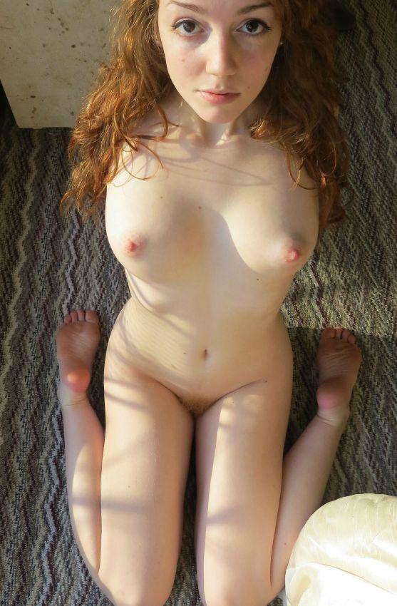 частное фото голых рыжих девушек