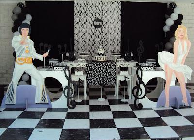 Resultado de imagem para decoração festa anos 60 provençal