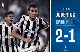 Juventus vs Sporting CP 2-1 Video