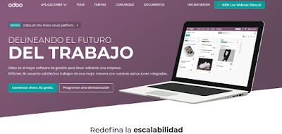 Probando ODOO, un ERP opensource