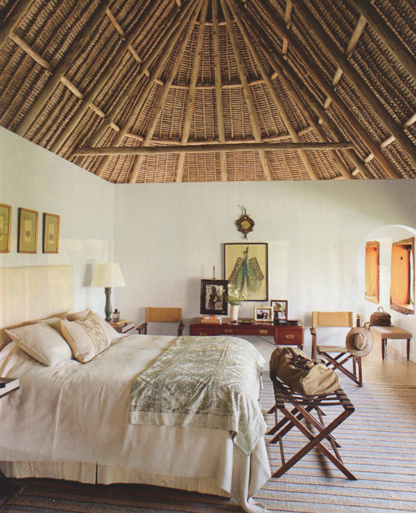 Home Designs October 2012: Alive & Kicking: House Beautiful: An American In Kenya