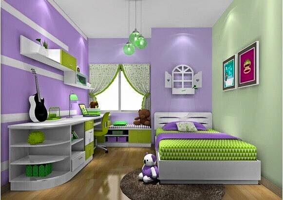 70 desain kamar tidur anak perempuan minimalis sederhana