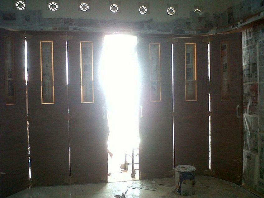 pintu dorong kayu 4