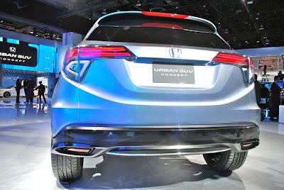 Honda Urban Suv Concept New Small Suv Debuts At Detroit
