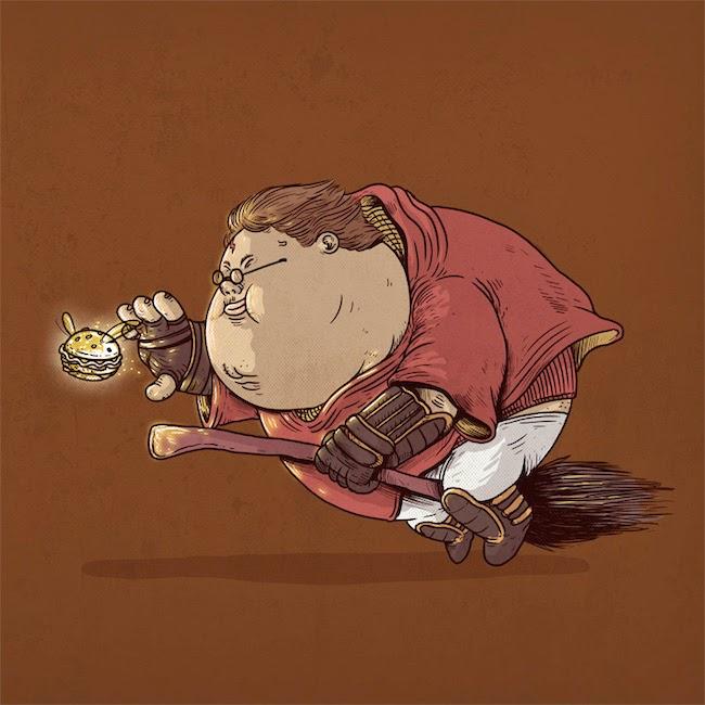 Fat Super Hero Gemuk - Fat Harry Potter
