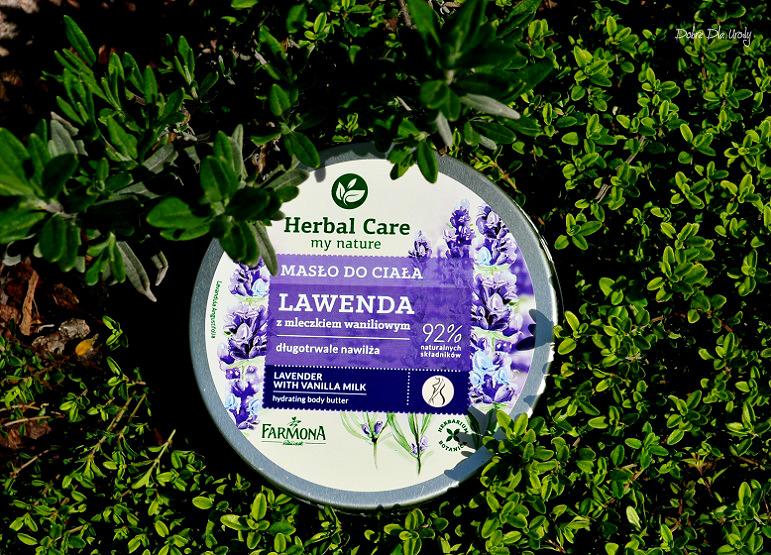 Herbal Care Masło do ciała Lawenda z mleczkiem Waniliowym recenzja