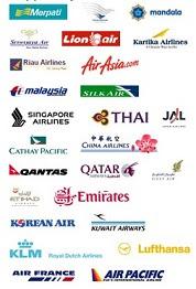 logo beberapa maskapai penerbangan