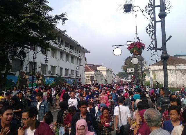 Inilah Foto-Foto Keren Karnaval Asia Afrika di Bandung 2017