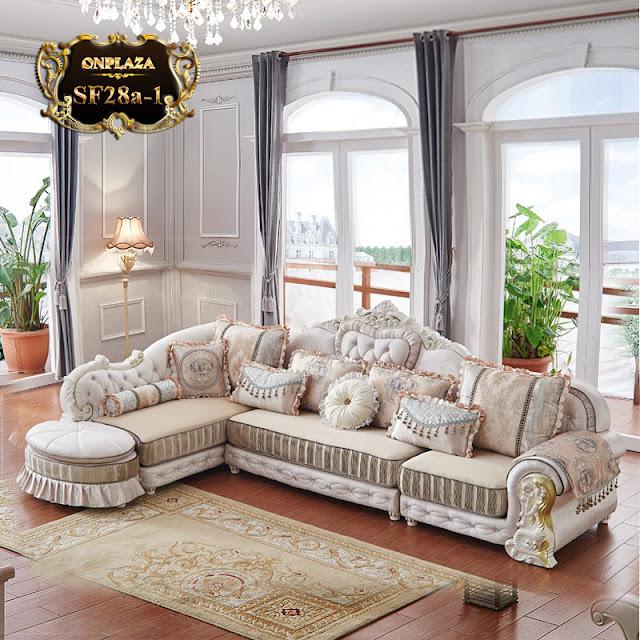 Bộ ghế sofa tân cổ điển châu âu SF28