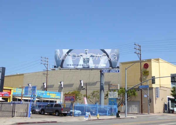 Westworld 2017 Mind-blowing Emmy FYC billboard