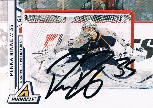 detailed look 8e4f5 8fb56 The Cardboard and Me: TTM: Pekka Rinne