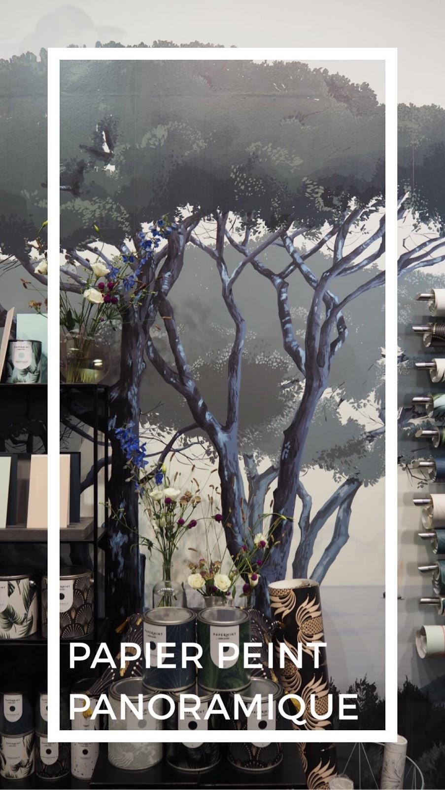 ilaria fatone - papier peint panoramique - tendances de maison & objets