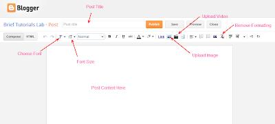 Blogger Post Editing Tips
