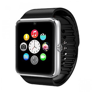 Generic GT08 Bluetooth 3.0 Smart Watch With Camera And Sim amazon