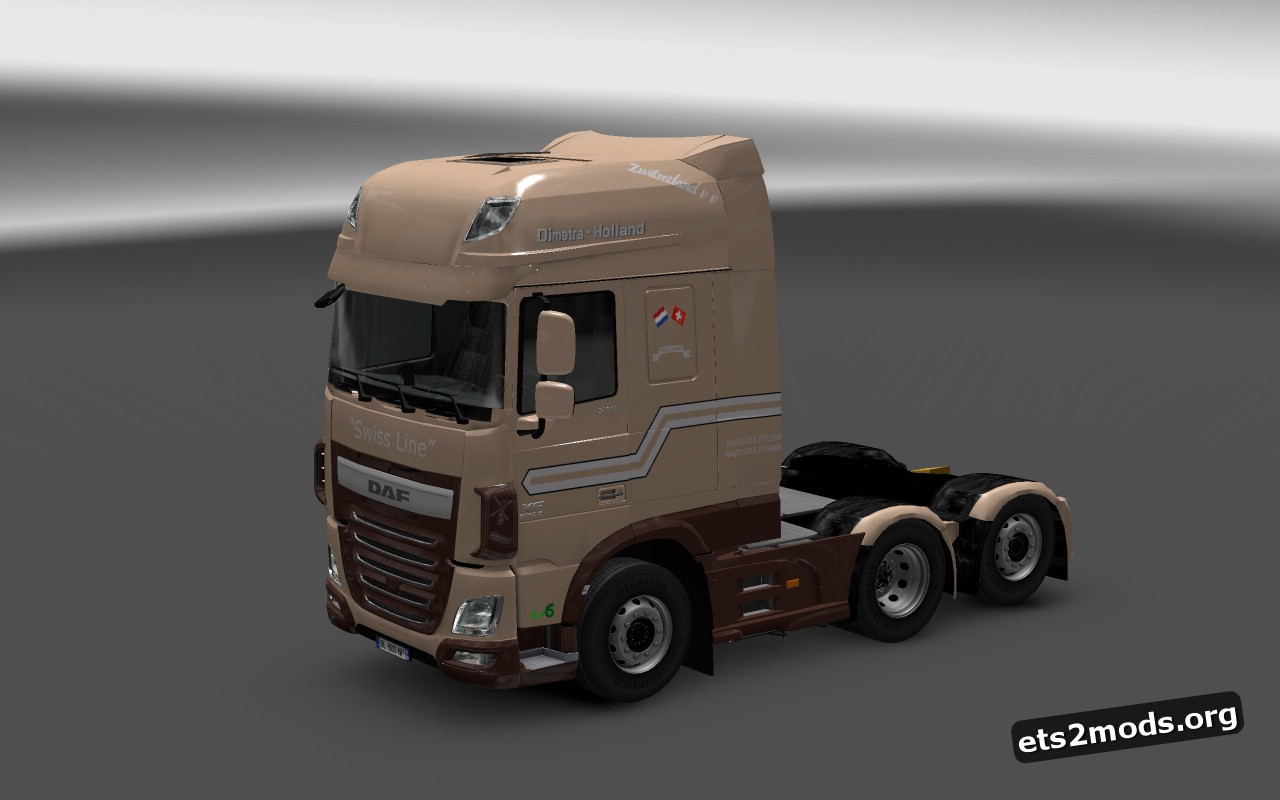 Dimetra Transport Skin for DAF Euro 6
