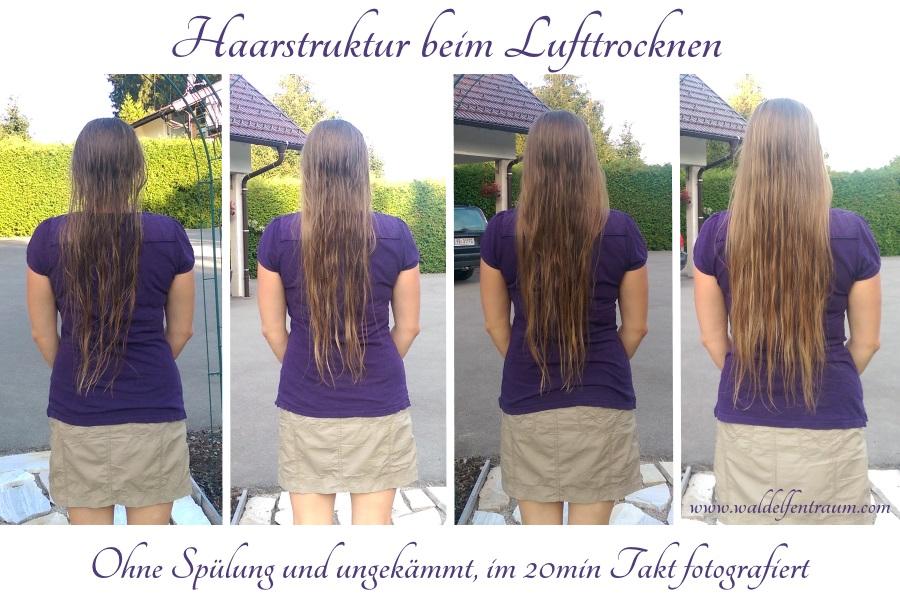 Waldelfentraum: Haare Lufttrocknen Lassen