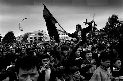 Tumulti e disordini in Albania