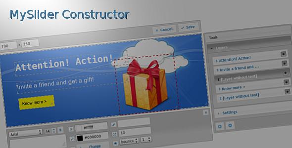 MySlider Constructor v1.4 – Codecanyon