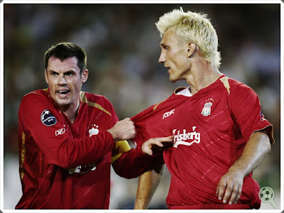 Jamie Carragher Sami Hyypia Liverpool
