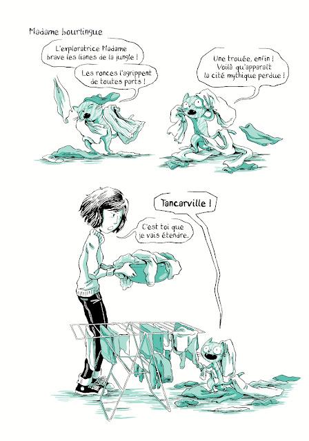 Page extraite de Madame T2 de Nancy Pena chez La boite à bulles