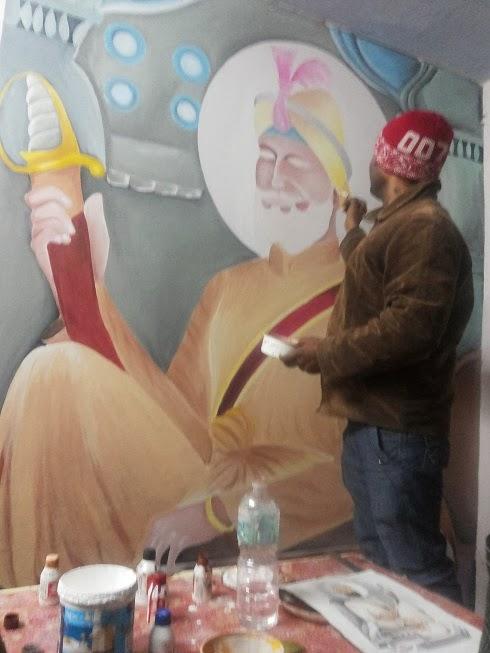 Guru Gobind Singh ji Painting