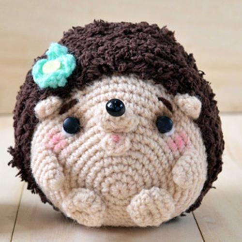 Hedgehog Amigurumi - Free Pattern