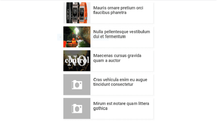 Membuat Widget Recent Posts Simple Dengan Gambar Thumbnail