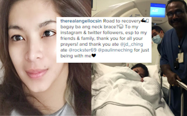 Angel Locsin Recovers After Successful Neck Operation