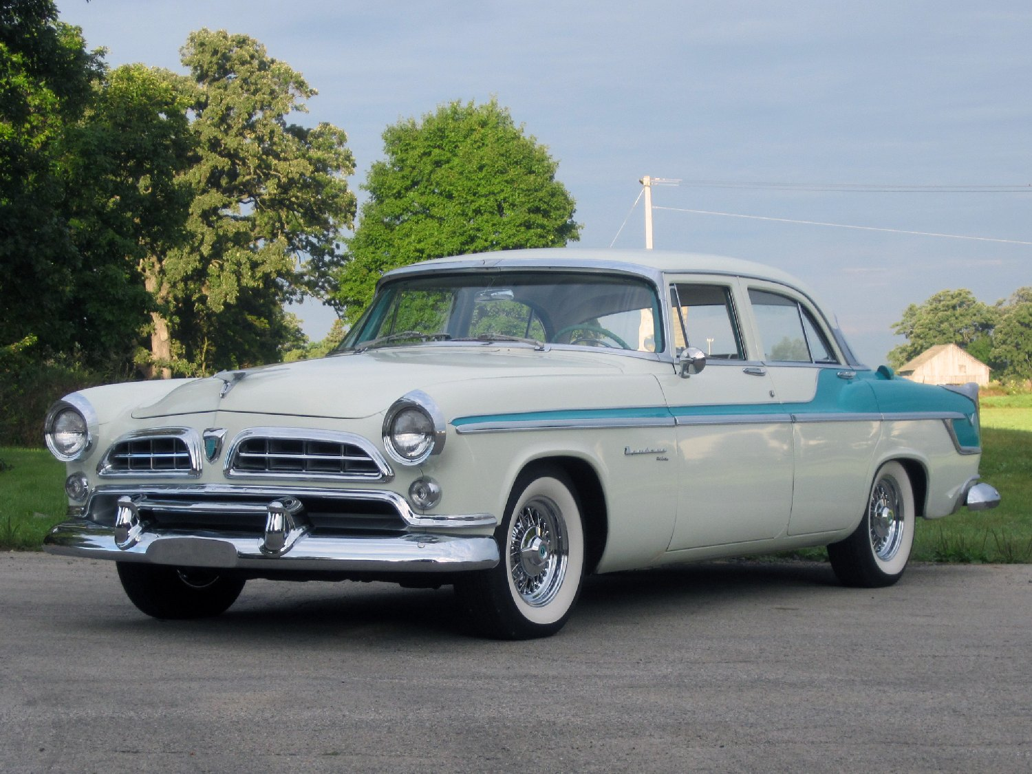 All American Classic Cars: 1955 Chrysler Windsor DeLuxe 4