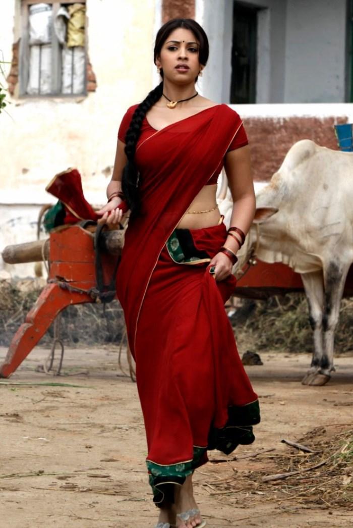 Tamil Womens Pundai Photos Kerala Mulai Hot Saree Photos -2132