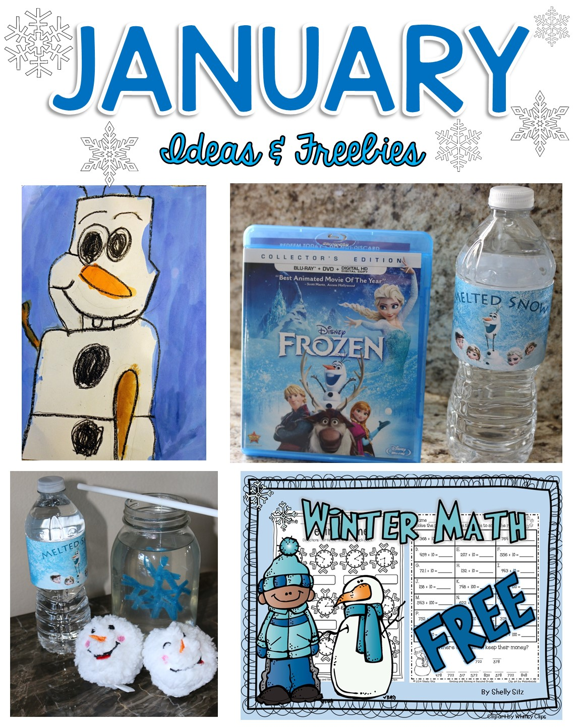 Smiling And Shining In Second Grade January Ideas And Freebies