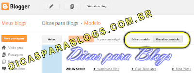 Visualizar Mudanças no HTML do Blog